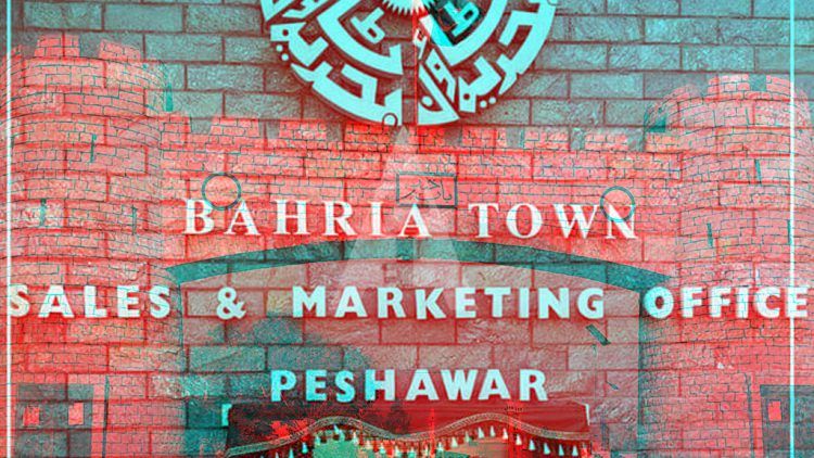 Bahria Town Peshawar Sales Office Opening Ceremony